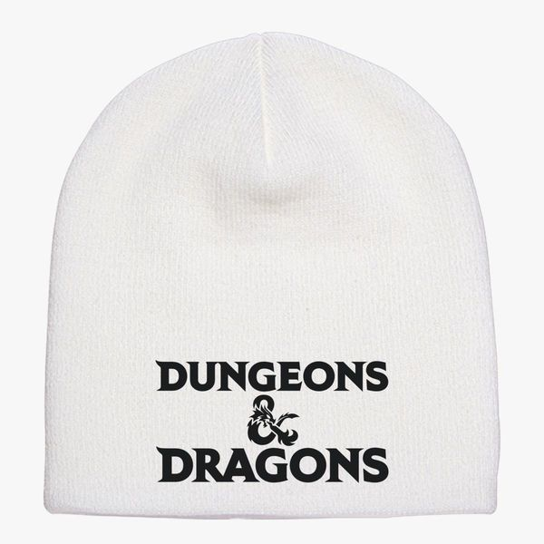 Dungeons and Dragons Logo Knit Beanie ... 9e240b64b78