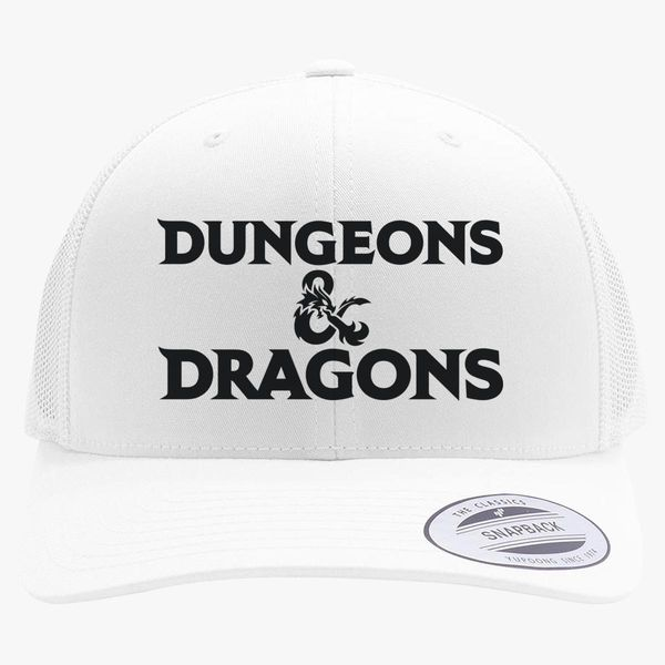04d8acde2ee Dungeons and Dragons Logo Retro Trucker Hat ...