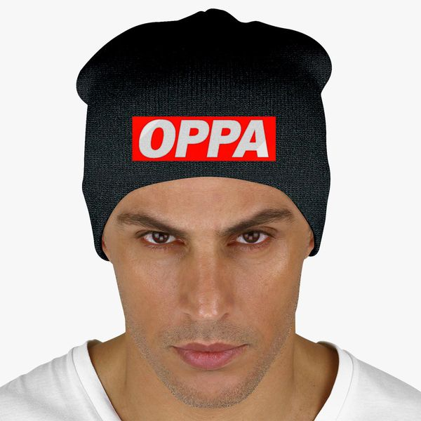 Oppa Korean Knit Beanie - Embroidery +more 2f0ffc8c24c
