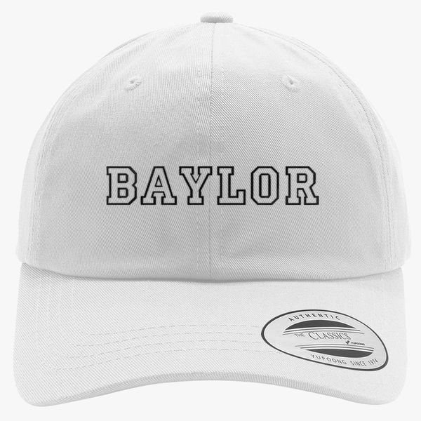 baylor university baylor Cotton Twill Hat - Embroidery ... 3099662a0aed