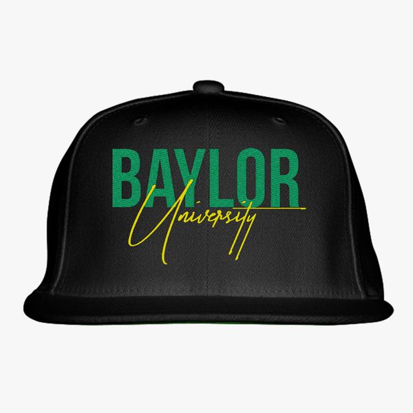 baylor university Snapback Hat - Embroidery ... 20efcc5871db