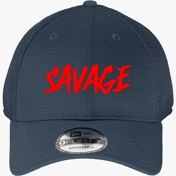 cc9eed2eb7f Savage Martinez Twins New Era Baseball Mesh Cap - Embroidery +more