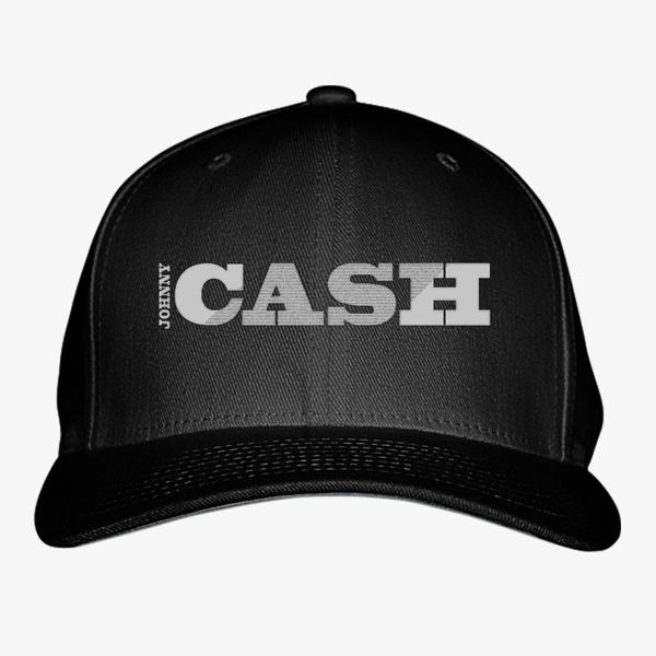 Johnny Cash Baseball Cap (Embroidered)  e3ae9920f4a