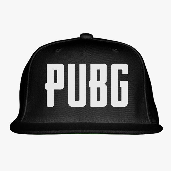 Battlegrounds Pubg Logo Snapback Hat ... 4143df7a9ec