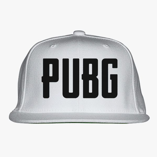 Battlegrounds Pubg Logo Snapback Hat Customon Com