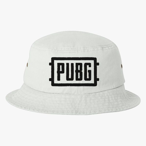 Battlegrounds Pubg Logo Bucket Hat ... daf57f151a8