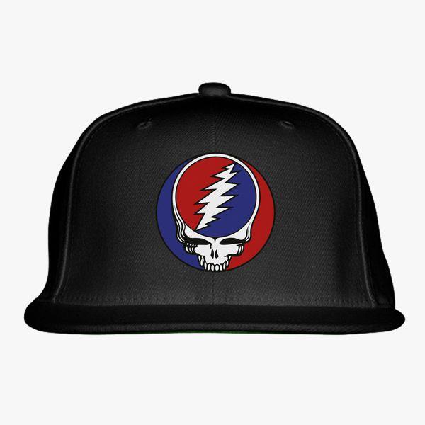 Grateful Dead Logo Snapback Hat  e15b3714e6e3