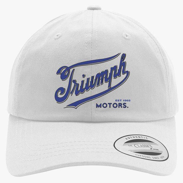 Triumph Motorcycles 1902 Logo Cotton Twill Hat ... afad202d01b