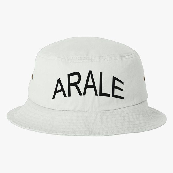 dr slump arale logo Bucket Hat - Embroidery +more 92205ffdc5c7
