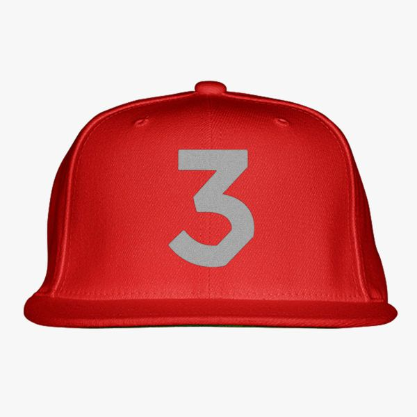 Chance The Rapper 3 Snapback Hat Embroidered Customon Com