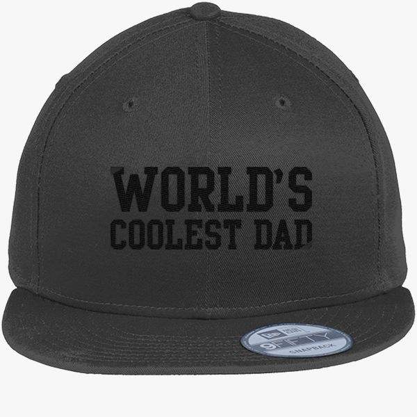 dcc5cb6ae8e World s Coolest Dad New Era Snapback Cap - Embroidery ...