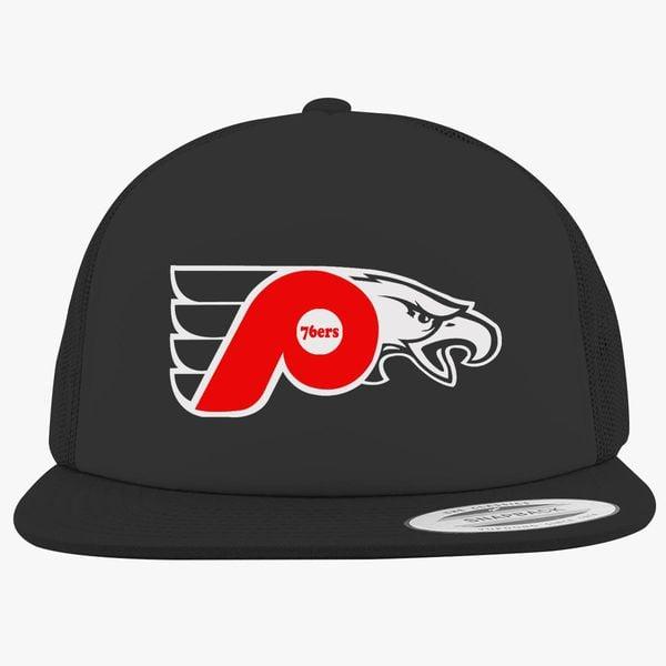 76ers Phillies Flyers Eagles Foam Trucker Hat ... b555aaa0770
