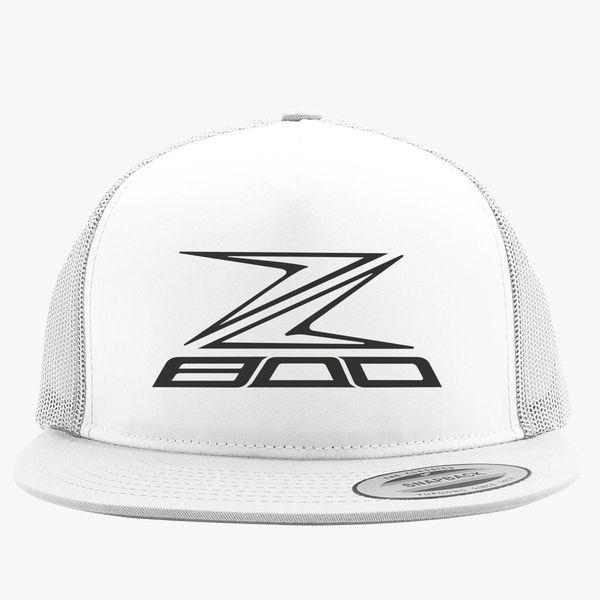 Kawasaki Z 800 Logo Trucker Hat ... 9bdf0ee3e7e