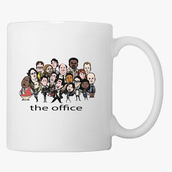 The office coffee mug Battlestar Galactica The Office Coffee Mug People The Office Coffee Mug Customoncom