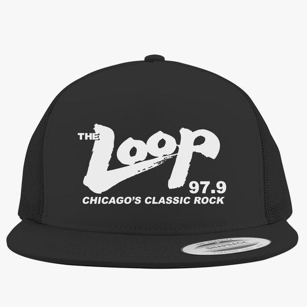 The Loop 97.9 Chicago s Classic Rock Trucker Hat ... 1b50daa0fd27