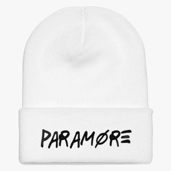 2ccbf05d791 Paramore Knit Cap - Embroidery ...