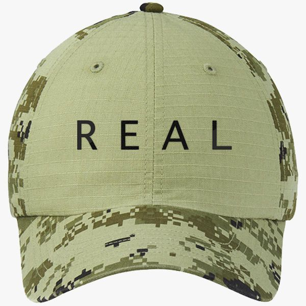 Nf Real Colorblock Camouflage Cotton Twill Cap (Embroidered ... 6934a3ad486e