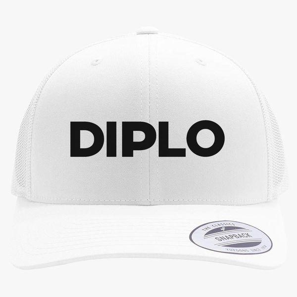 c9cab15bf0c Diplo Logo Retro Trucker Hat ...