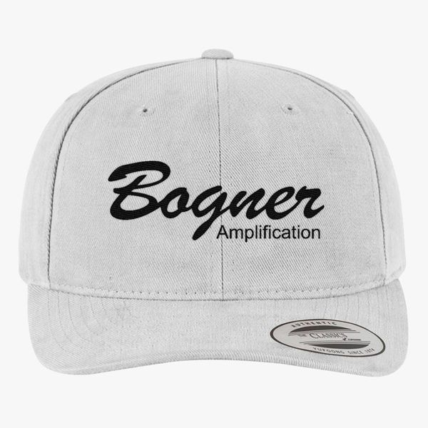 0a7a7b0dbbf Bogner amplifier (Black) Brushed Cotton Twill Hat (Embroidered ...