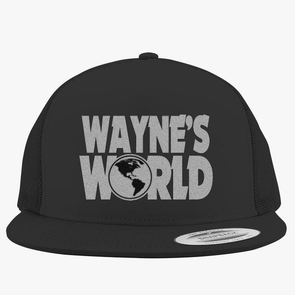 Wayne s World Trucker Hat (Embroidered)  e0fb075e526b