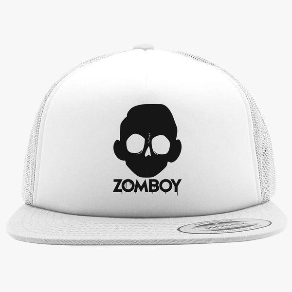 Zomboy Logo Foam Trucker Hat ... 2570af6d2dc