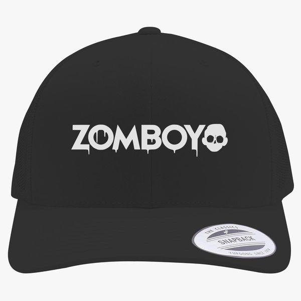 Zomboy Logo Retro Trucker Hat ... cfbca55e44f