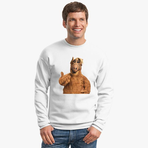 707c88f59b7 alf Crewneck Sweatshirt Change style