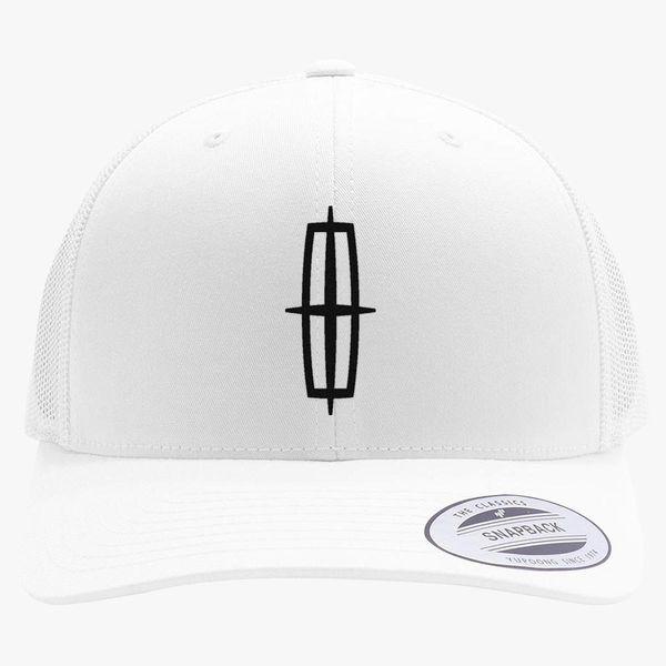 Lincoln Car Retro Trucker Hat Embroidered Customon Com