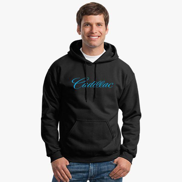 9136a7cc99fd1 Cadillac Logo Unisex Hoodie Change style