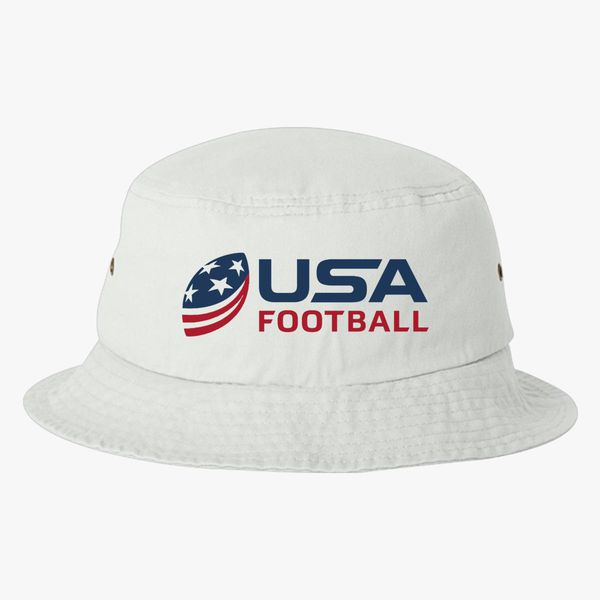 USA Football Bucket Hat - Embroidery +more edaf9623ac8
