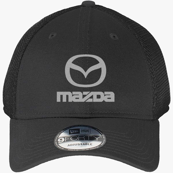 Mazda New Era Baseball Mesh Cap (Embroidered)  d5702f4381a3