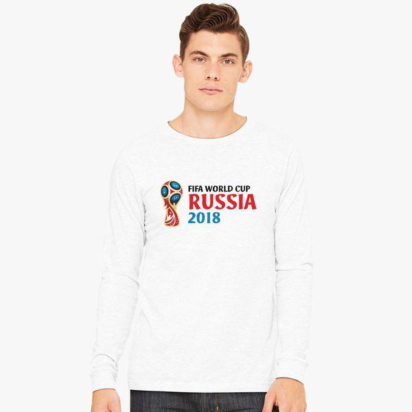 Fifa World Cup Russia 2018 Long Sleeve T-shirt ... c2a49fbaa