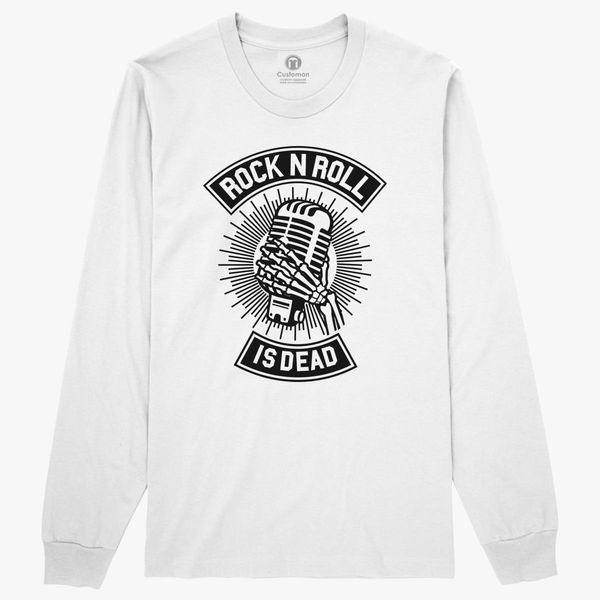 Rock N Roll Is Dead Long Sleeve T Shirt Customon Com