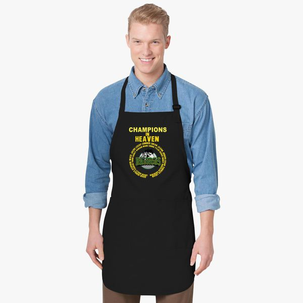 a6022def1 In Loving Memory Humboldt Broncos Champions In Heaven Apron +more