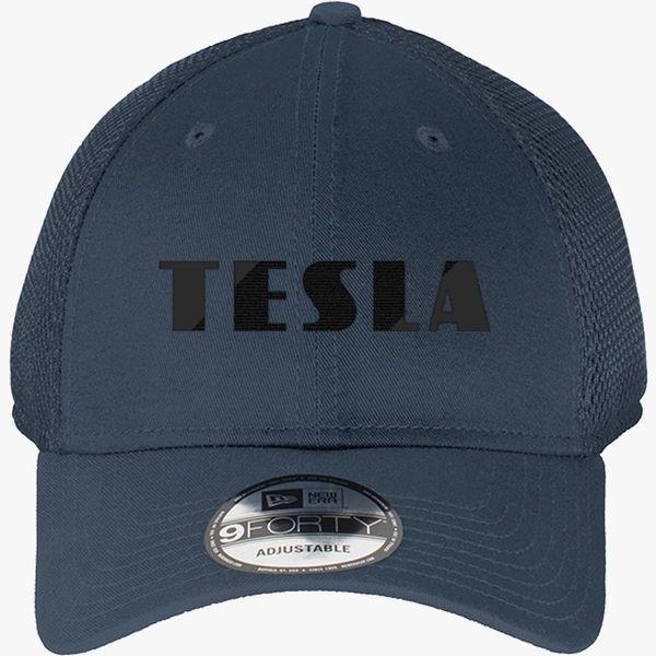 Tesla New Era Baseball Mesh Cap - Embroidery +more 199e20b7198