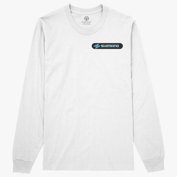 shimano logo long sleeve t shirt customon Long Sleeve Dresses shimano logo long sleeve