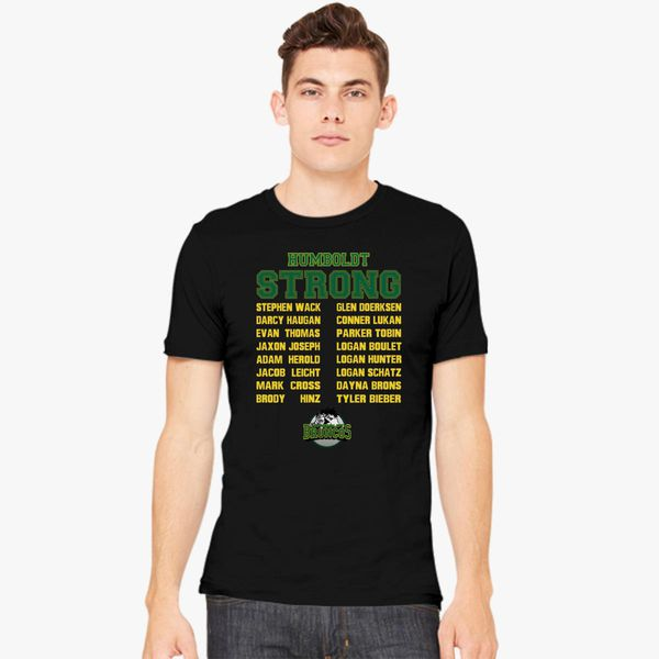 241a9bd93 In Loving Memory Humboldt Broncos Champions In Heaven Men s T-shirt +more