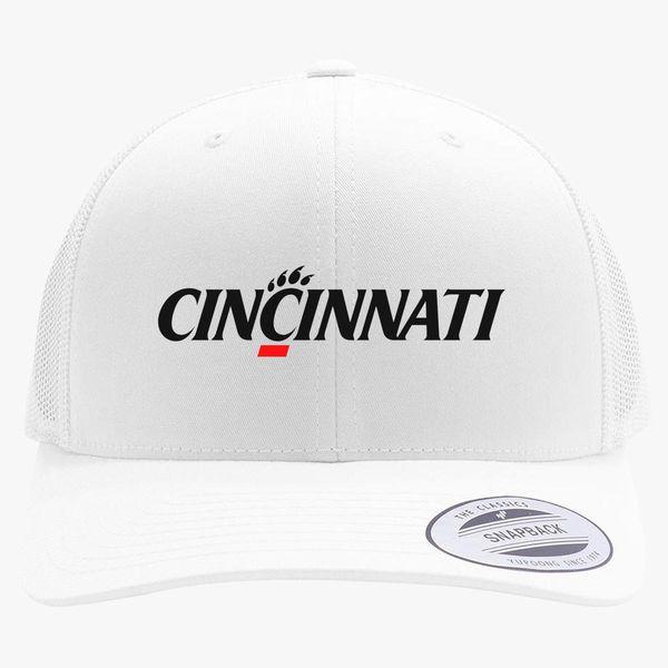 278b3909061 Cincinnati Bearcats Logo Retro Trucker Hat ...