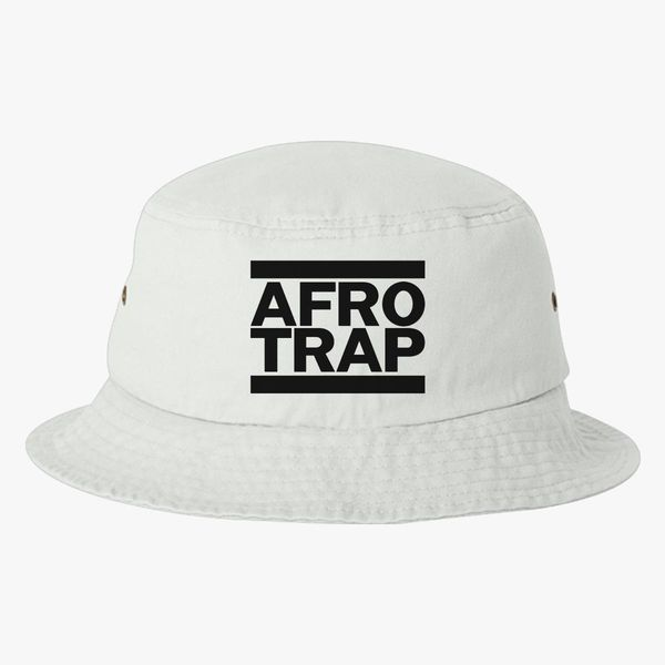 afro trap Bucket Hat - Embroidery +more 605889e6807