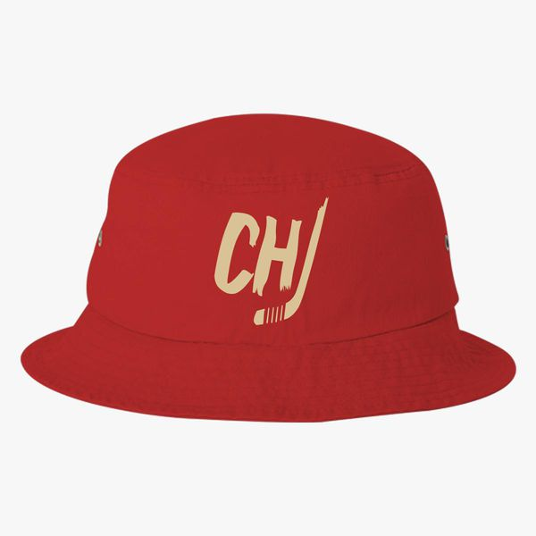 Chicago Blackhawks Bucket Hat (Embroidered)  8b7674b512d