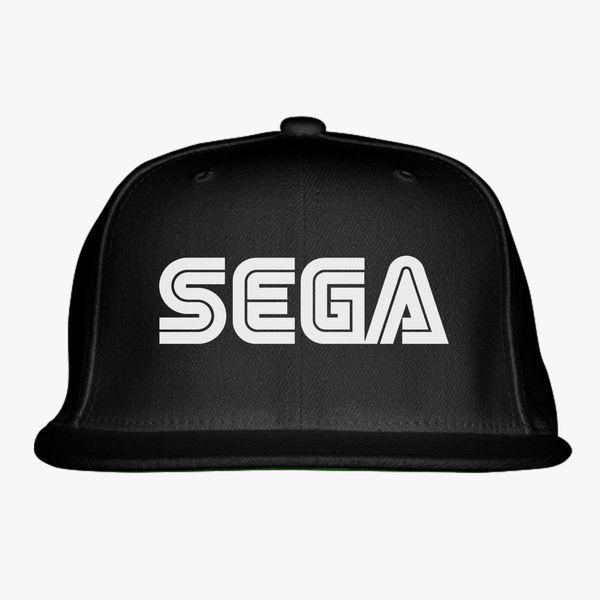 Sega Logo Snapback Hat  46bae1f8bc7
