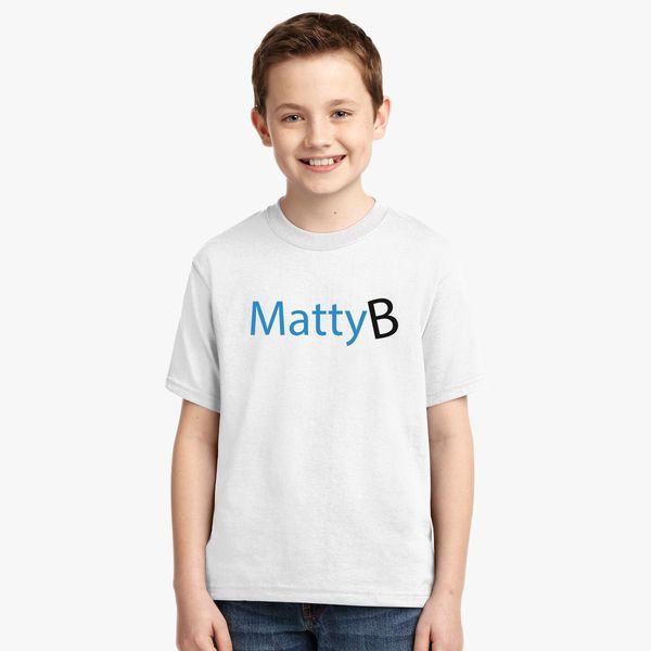 Mattybraps Matty B Logo Youth T Shirt Customon Com