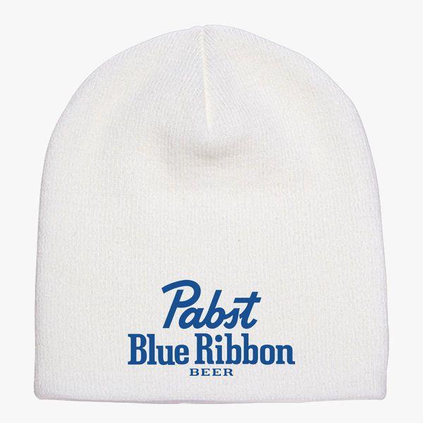 Pabst Blue Ribbon Knit Beanie ... 0f76e9ab215