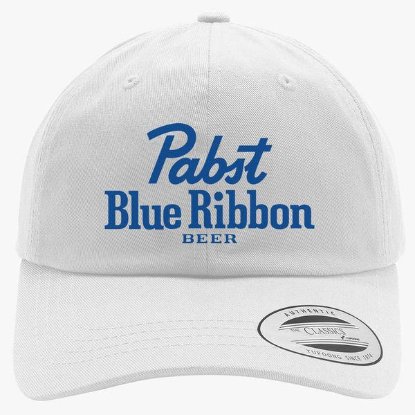 Pabst Blue Ribbon Cotton Twill Hat ... 22ae2c55cd2