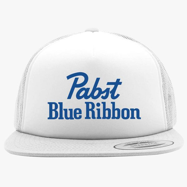 Pabst Blue Ribbon Foam Trucker Hat ... f9474fe8089