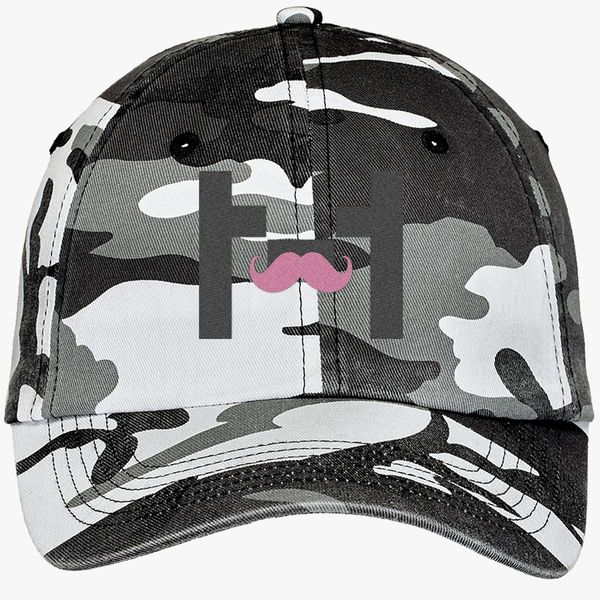Markiplier Camouflage Cotton Twill Cap - Embroidery ... 4b5ec42ff085