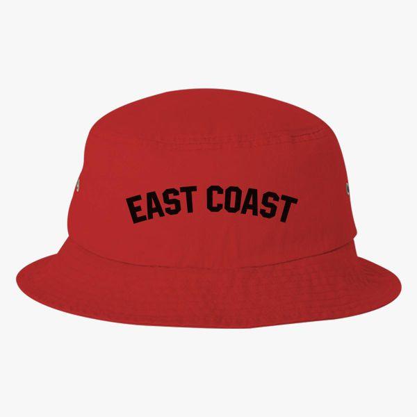 East Coast Bucket Hat Embroidered Customon