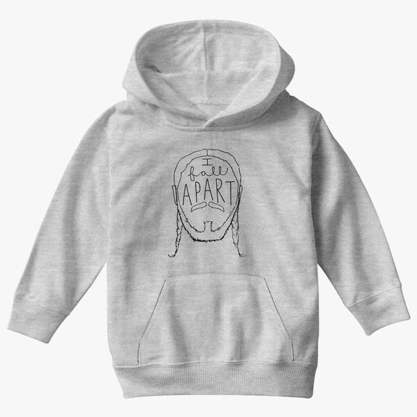 Post Malone I Fall Apart Guitar: Post Malone I Fall Apart Kids Hoodie
