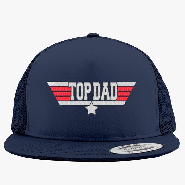 Top dad Trucker Hat (Embroidered)  d3bbd78cfbf