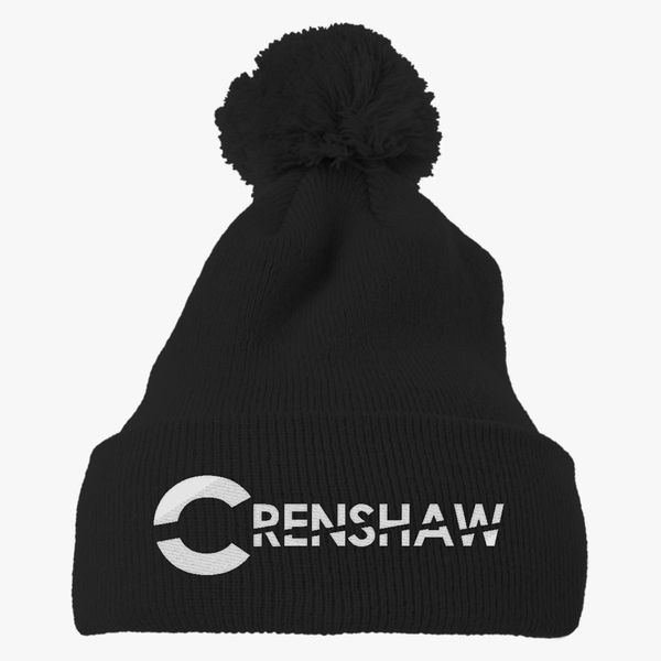 CRENSHAW Knit Pom Cap - Embroidery +more de501b9c8c45